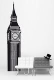 Big Ben London Kalkomania ścienna