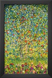 Gustav Klimt Apple Tree Art Print Poster Posters