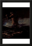 "Francisco de Goya y Lucientes (The colossus (or ""panic"")) Art Poster Print Posters"