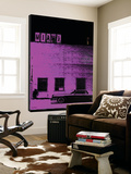 Vice City (Miami , purple) Print by Pascal Normand