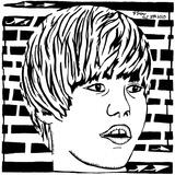 Maze Portrait of Justin Beiber Psychedelic Affiche par Yonatan Frimer