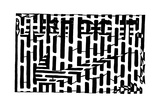 Just Do it Maze Nike Ad Mazes Prints by Yonatan Frimer