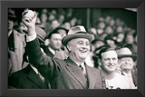President Franklin Delano Roosevelt First Pitch Archival Photo Poster Print Posters