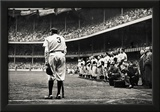 Babe Ruth Retirement New York Yankees Archival Photo Sports Poster Poster