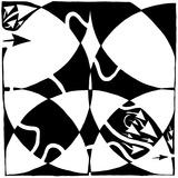 A Rorschach Maze Posters par Yonatan Frimer