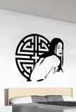 The Geisha 2 Wall Decal