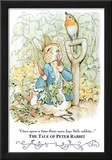 Beatrix Potter Tale Peter Rabbit Art Print POSTER cute Poster