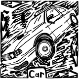 C is for Car Maze Prints by Yonatan Frimer