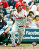 Shane Victorino 2012 Action Photo