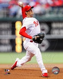 Cole Hamels 2012 Action Photo