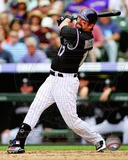 Todd Helton 2012 Action Photographie
