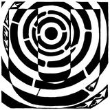 Maze of Uppercase U Art par Yonatan Frimer