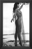 Bettie Page Sheer Archival Photo Poster Print Prints
