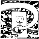 E is for Electricity Maze Affiches par Yonatan Frimer