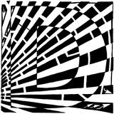 Maze of Uppercase D Poster par Yonatan Frimer