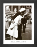 Kissing the War Goodbye (Times Square, New York City,, c.1945) Prints