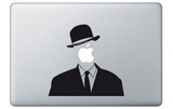 Magritte for Mac Laptop Stickers