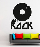 100 percent Rock Wall Decal