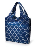 Navy Downing Reusable Tote Bag Sacola