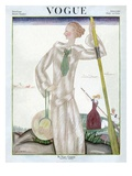 Vogue Cover - June 1922 Regular Giclee Print von Georges Lepape