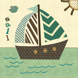 Sails West Prints by Jo Moulton