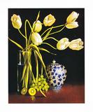 Tulipes blanches Art par Peter Fraenkel