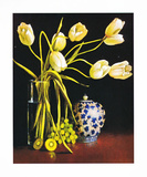 White Tulips Art by Peter Fraenkel