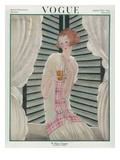 Vogue Cover - August 1922 Regular Giclee Print von Georges Lepape
