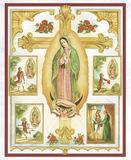 Lady Of Guadalupe Montage Plakat af Vincent Barzoni
