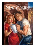 The New Yorker Cover - June 18, 2012 Premium Giclee Print by Owen Smith
