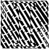 Maze of Uppercase I Prints by Yonatan Frimer