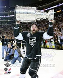 Justin Williams with the Stanley Cup Trophy after Winning Game 6 of the 2012 Stanley Cup Finals Photo