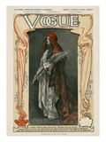 Vogue Cover - September 1907 Regular Giclee Print by  Meyner