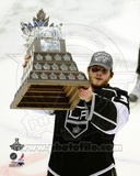 Jonathan Quick With the Conn Smythe Trophy after Winning Game 6 of the 2012 Stanley Cup Finals Photo