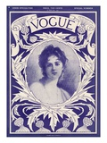 Vogue Cover - February 1904 Regular Giclee Print