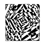 Chaos Optical Illusion Maze Mazes Prints by Yonatan Frimer