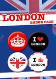 London Badge Pack Badge