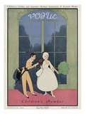 Vogue Cover - August 1912 Premium Giclee Print by Arthur Finley
