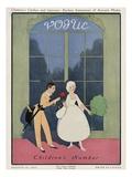 Vogue Cover - August 1912 Regular Giclee Print by Arthur Finley