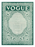 Vogue Cover - January 1908 Regular Giclee Print