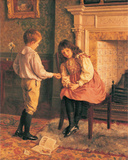 The Peace Offering Art by Charles Heigh Wood