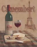Camembert, Tour Eiffel Affiches par T. C. Chiu