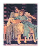 Music Lesson Posters by Frederick Leighton