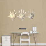 Glove Wall Decal by Jason Freeny