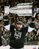 Mike Richards with the Stanley Cup Trophy after Winning Game 6 of the 2012 Stanley Cup Finals Photo