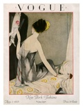 Vogue Cover - May 1923 Premium Giclee Print by Henry R. Sutter