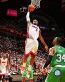 LeBron James 2011-12 Playoff Action Photo
