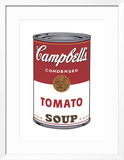 Campbell's Soup I: Tomato, c.1968 Framed Giclee Print by Andy Warhol