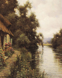 Cote De La Riviere Poster by Louis Aston Knight