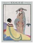 Vogue Cover - November 1919 Giclee Print by Helen Dryden